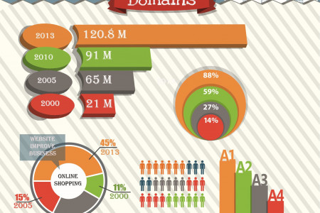 Expensive Domain Names Infographic
