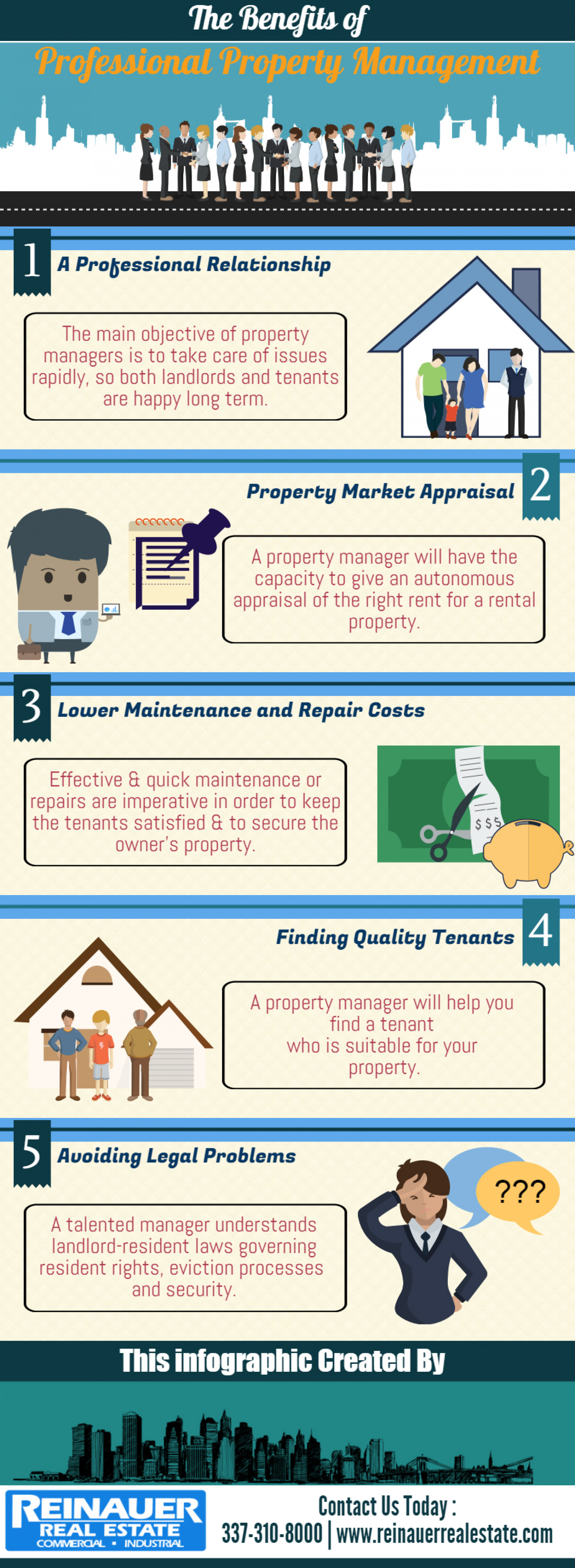 Experienced Property Management in Southwest Louisiana Infographic
