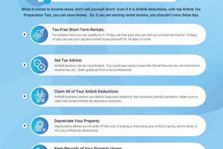 Expert Tax Tips to Maximize Your Airbnb Deductions Infographic