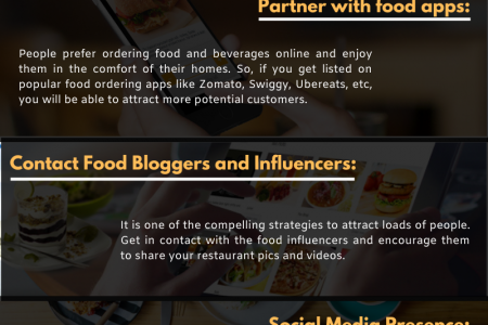 Expert Tips to Increase Restaurant Sales Infographic