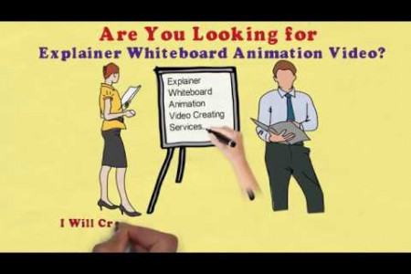 Explainer Whiteboard Animation Video Creating and Uploading Services. Infographic