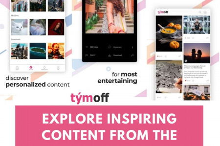 Explore Inspiring Content From The World Infographic