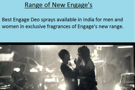 Explore the Beauty of Love with Engage Deo Body Spray Infographic