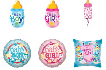 Explore wide range of Baby Boy and Girl Balloons Infographic