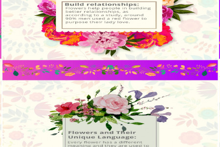 Express your Emotion through Flowers Infographic
