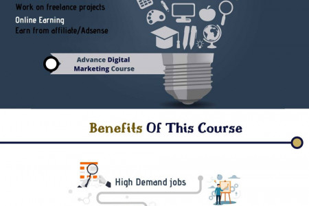 External Experts | Digital Marketing course Infographic