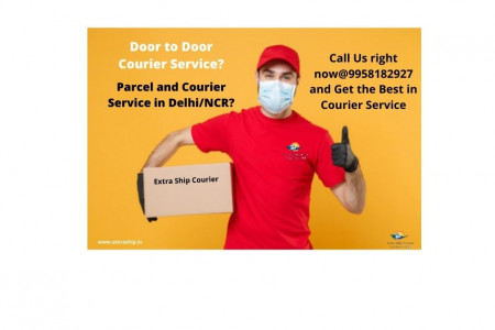 Extra Ship Courier, a Courier Company in Delhi  Infographic