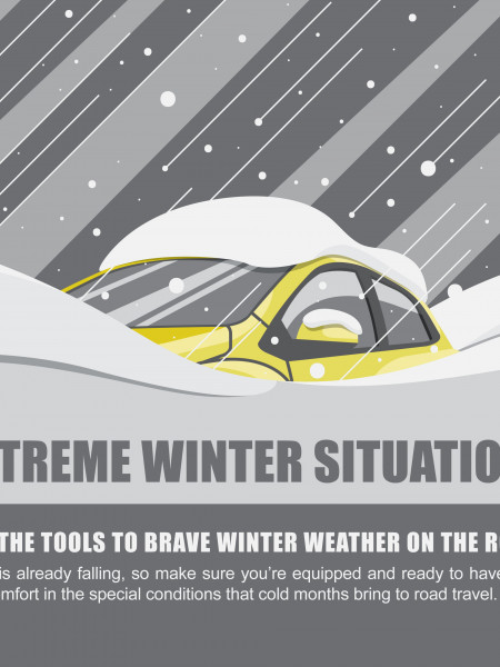 Extreme Winter Situations Infographic