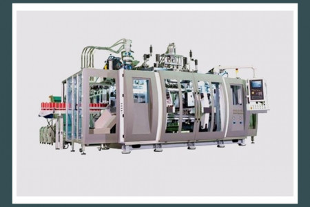 Extrusion Blow Molding Machine Series - Pet All Mfg. Infographic