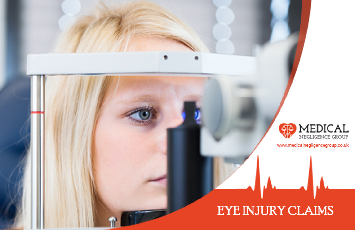 Eye Injury Compensation Claims - Medical Negligence Group Infographic