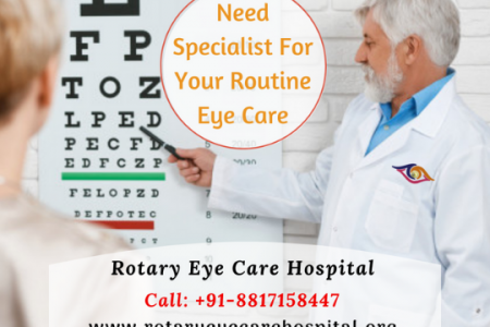Eye specialist in Indore for routine eye checkup | Rotary eye care hospital Infographic