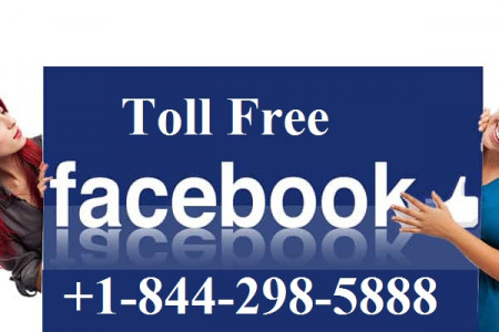 Facebook Customer Service Number +1-844-298-5888 Infographic