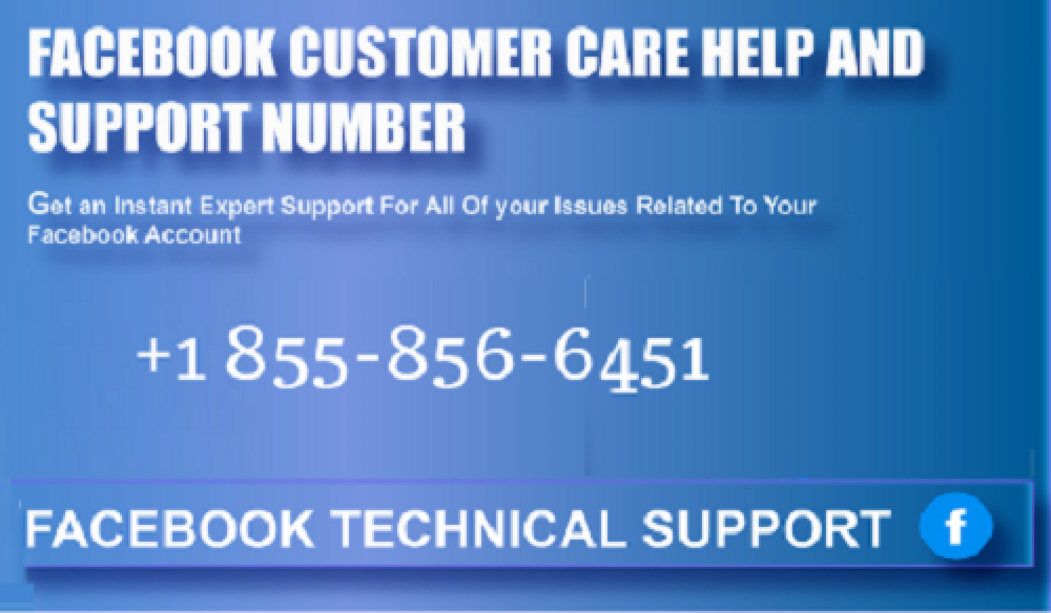 Facebook Customer Support Infographic