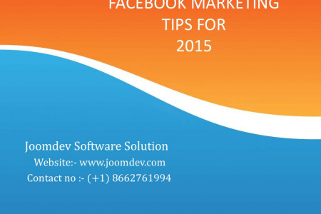 Facebook Marketing Tips for small business Infographic