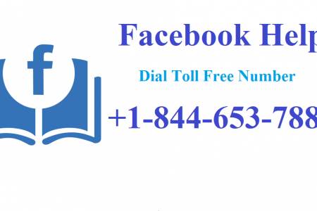 Facebook Support Number +1-844-653-7888 Infographic