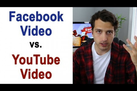 Facebook Video Vs. Youtube Vide - which is best? Infographic