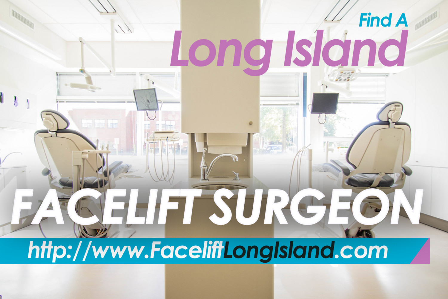 Facelift & Facial Plastic Surgeon in Long Island Infographic