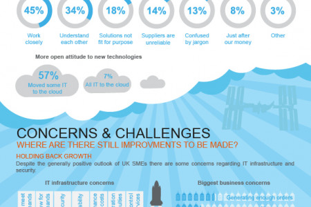 Facing up to the IT Infrastructure Challenge  Infographic