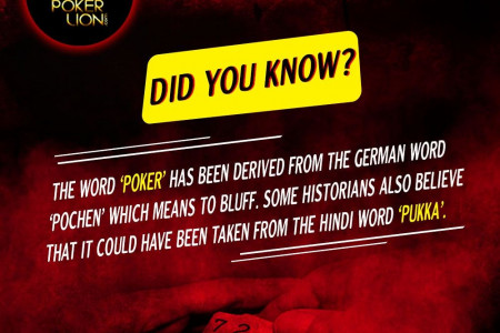 Fact About Poker Infographic