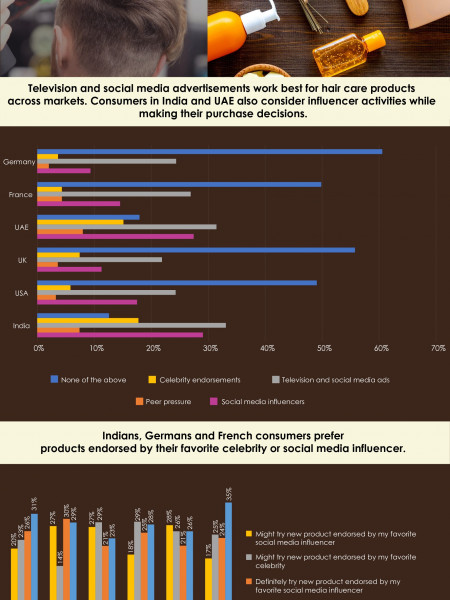 Factors Driving Consumer Decisions - Hair Care Products Infographic
