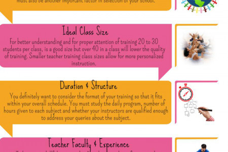 Factors to Consider Before Signing Up for Yoga Teacher Training Course Infographic