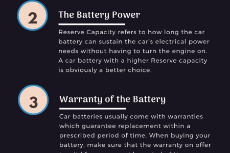 Factors to Consider When Buying a Car Battery Infographic