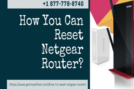 Factory Reset Netgear Router with Experts Infographic