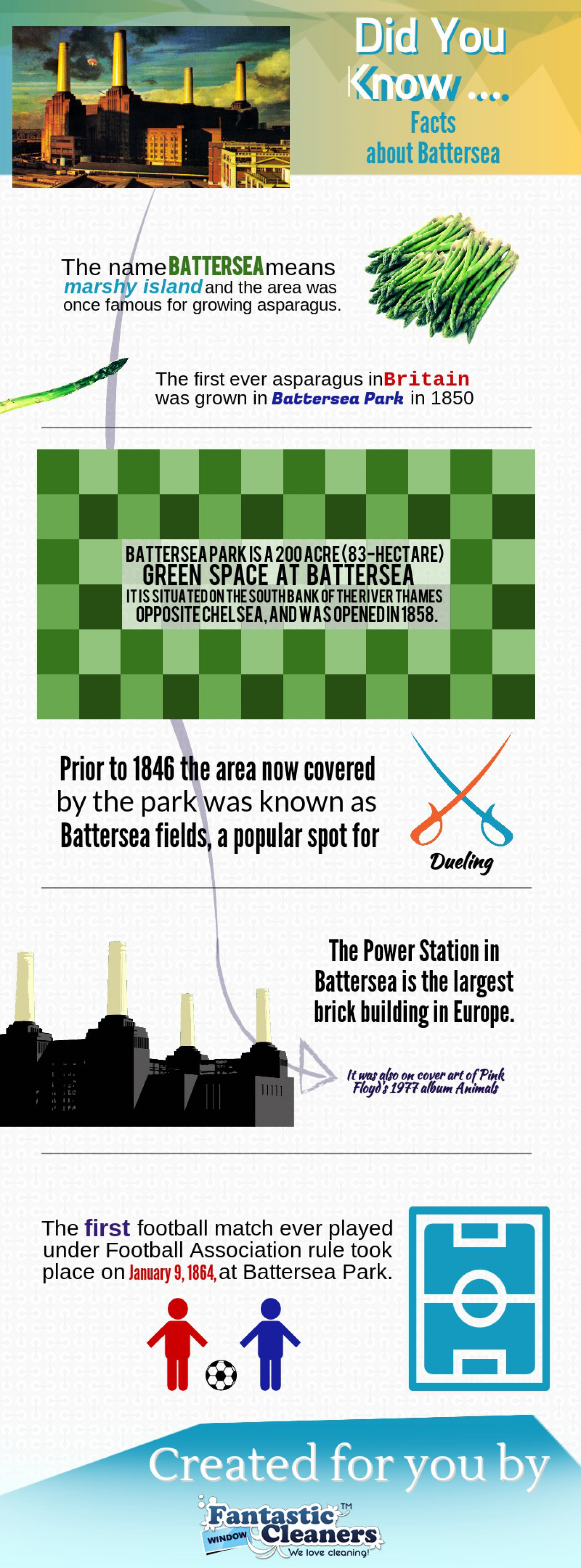 Facts About Battersea Infographic
