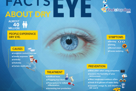Facts About Dry Eye Infographic