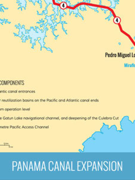 Facts About The Panama Canal Expansion Infographic