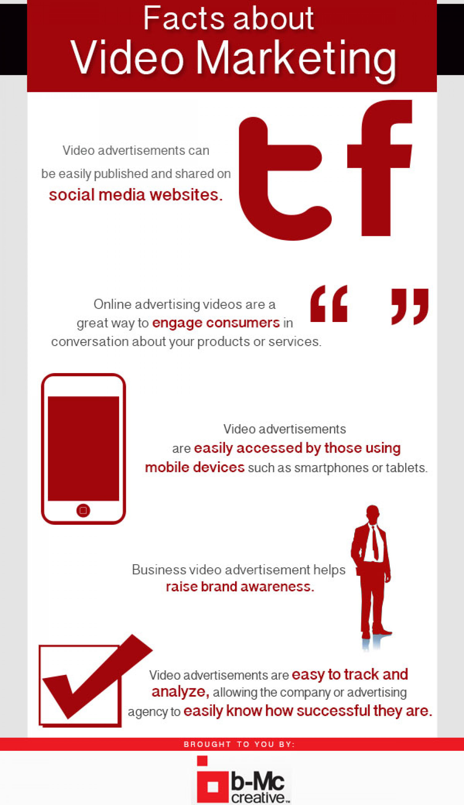 Facts About Video Marketing Infographic