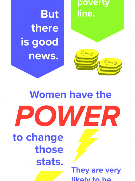 Facts That Should Scare Women About Personal Finances Infographic