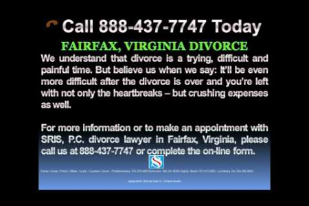 Fairfax Virginia Divorce Lawyer Infographic