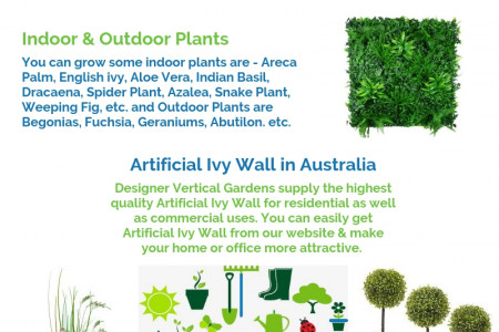 Fake Green Wall in Melbourne Infographic