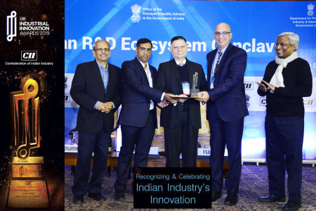 Falco eMotors Wins Most Innovative Company CII award in the Manufacturing Sector For Small Enterprises.  Infographic