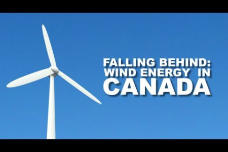 Falling Behind: Wind Power in Canada Infographic