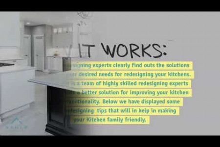 Family Friendly Kitchen Cabinets Redesigning - Azule Kitchens Infographic