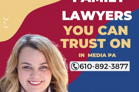 Family Lawyers You Can Trust On in  Media PA   LaMonaca Law  Infographic