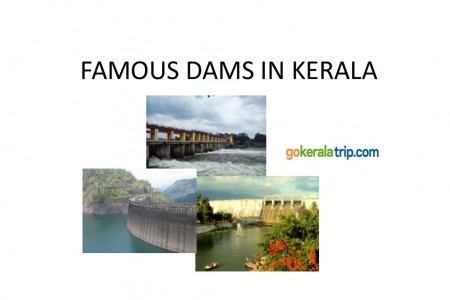 Famous Dam destination in Kerala. Infographic