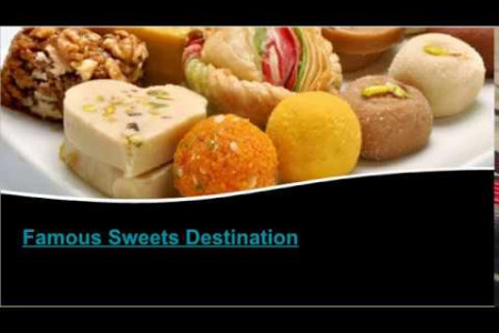 Famous Sweet Shops in Udaipur Infographic