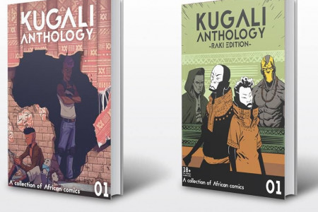 Fantasy Anthologies || African Anthology || Kugali Anthology Infographic