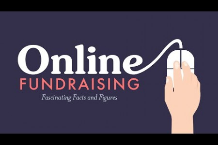 Fascinating Facts About Online Fundraising Infographic
