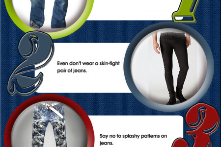 Fashion Rules For The Modern Man Infographic