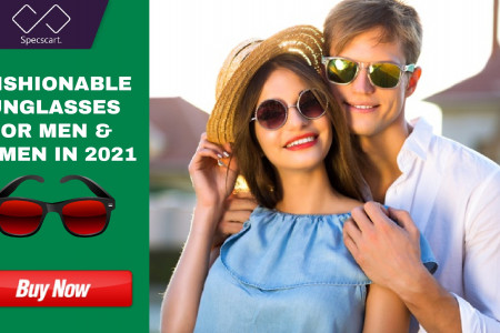 Fashionable Sunglasses for Men and Women in 2021 Infographic