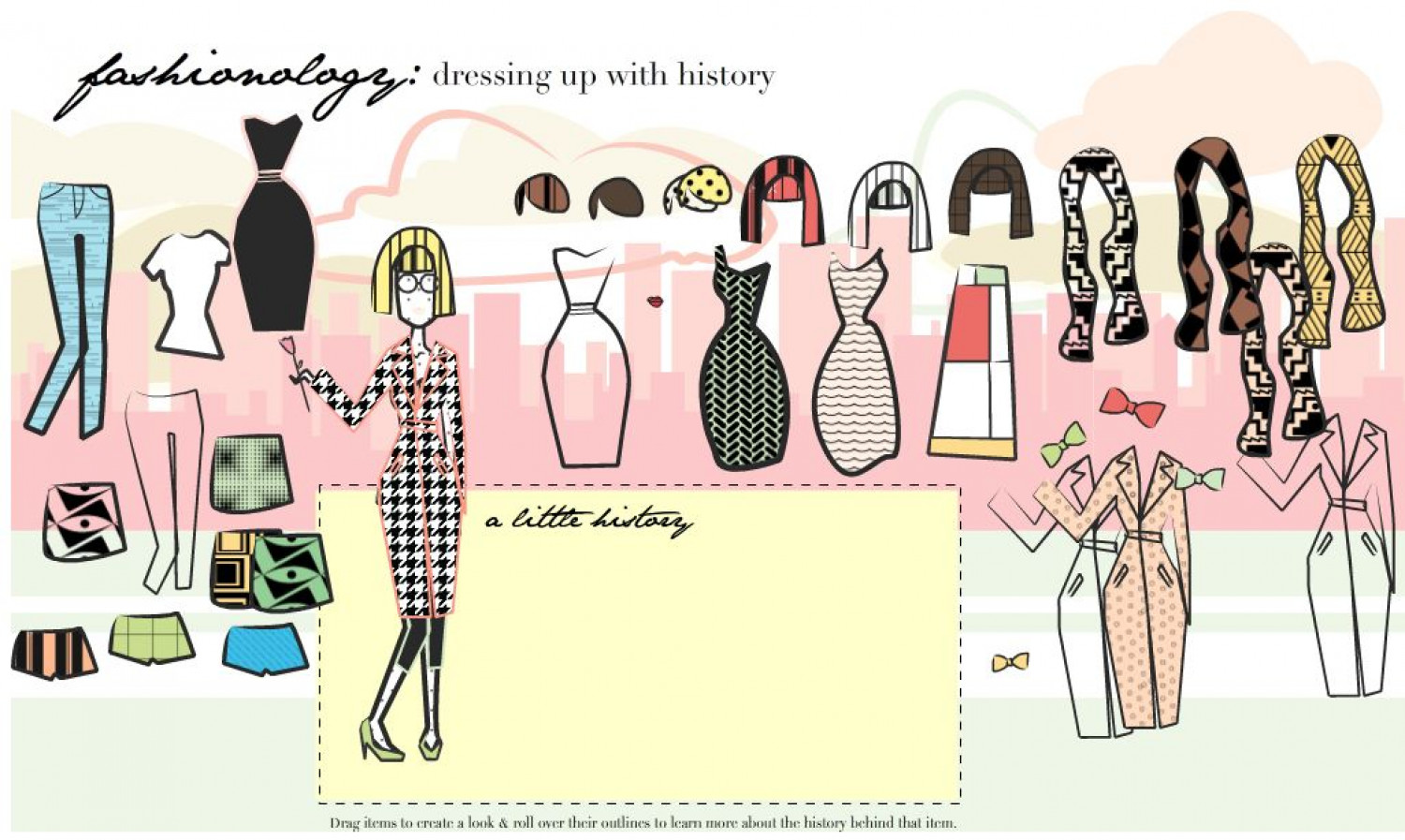Fashionology: Dressing up With History Infographic