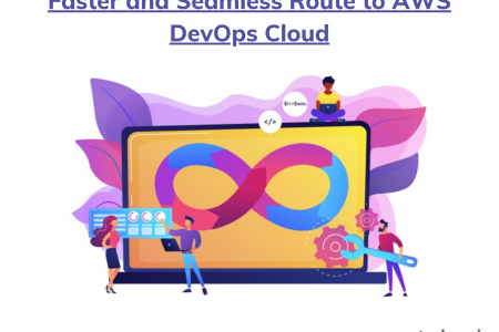 Faster and Seamless Route to AWS DevOps Cloud Infographic