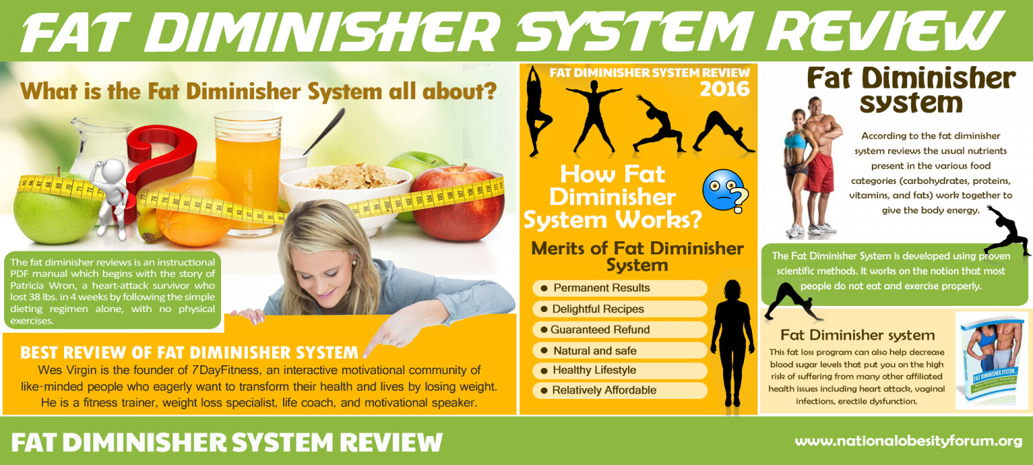 Fat Diminisher System Review 2016 Infographic