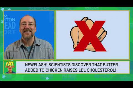 Fat Head Report 004 - The 'White Meat Will Kill You' study is a pile of chicken $@#% Infographic