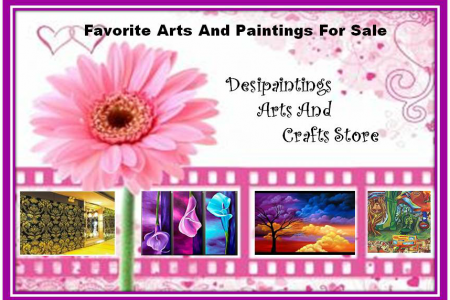 Favorable Arts and Paintings for Sale Infographic
