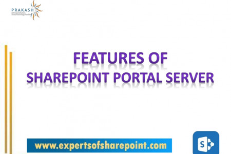 Features of SharePoint Portal Server Infographic